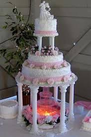 tacky as hell but awesome lit wedding cake stands this one has