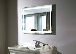 Bathroom Mirror With Lights Built In Bathroom Mirror With Lights Built In Designer Bathroom Mirror With