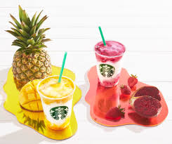 Pineapple Trend by Starbucks Berry Prickly Pear And Mango Pineapple Frappuccino