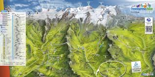Italy Mountains Map by Travel To Champoluc Thealps Com
