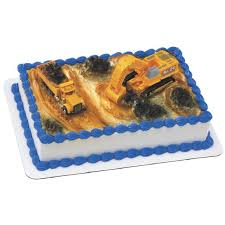 construction cake toppers decopac construction dig cake kit