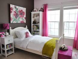 Teen Bookcase Bedroom Interactive Teen Bedroom With White Wooden Headboard