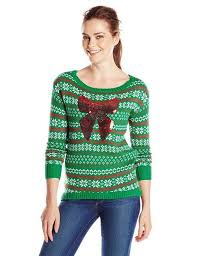 18 best ugly u0026 lighted christmas sweaters for girls u0026 women 2015