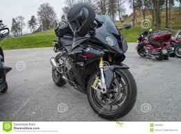 bmw bike 1000rr motorbike meeting at fredriksten fortress bmw s 1000rr editorial