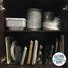 Fix Cabinet Simple Organizing Fix For Wasted Cabinet Space Kitchen Cabinet