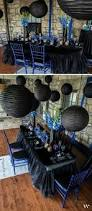 Black Blue And Silver Table Settings Best 25 Black Silver Wedding Ideas On Pinterest Black Wedding