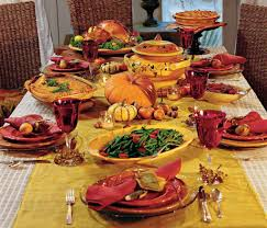 thanksgiving thanksgiving dinner dinnerware plates set menu
