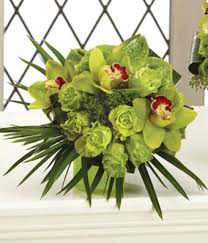 green roses forever yours bridal bouquet at from you flowers