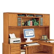 Computer Hutch Desk With Doors Desktop Hutch Computer Overhead Storage For Desks In The Home