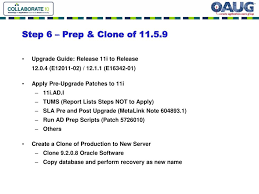 ppt twelve steps to an oracle apps upgrade 11 5 9 to 12 0 6