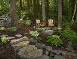 Landscaping Ideas For Sloped Backyard Landscape Ideas For Hilly Backyards U2013 Mobiledave Me