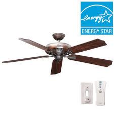Fishing Pole Ceiling Fan by Hunter Royal Oak 60 In Indoor New Bronze Ceiling Fan 54018 The