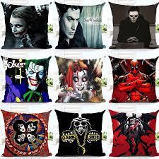 customized design harley quinn joker printed pillow