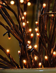 lighted willow branches lighted branches and flowers illuminated gardens