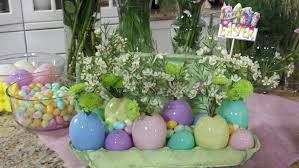 Outdoor Easter Decorations For The Home by Ideas Decorating Your Affordable Easter Centerpiece Ideas