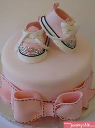 posh cakes posh princess baby shoe cake shoe inspired by a pair of co flickr