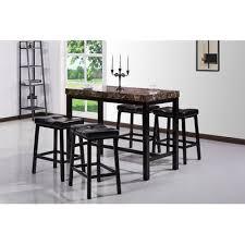 5 Piece Pub Table Set Ling Pub Table Raise The Bar Table Reclaimed Wood Bar Table