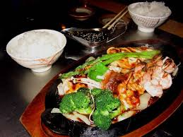 cuisiner au teppanyaki teriyaki teppanyaki with chicken and shrimp picture of oga s