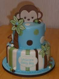 baby shower monkey monkey theme cakes for baby showers monkey themed baby shower