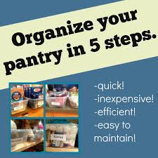 michelle paige blogs organize your pantry in 5 steps