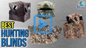 Best Bow Hunting Blinds Top 10 Hunting Blinds Of 2017 Video Review