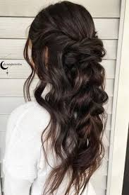 Hairstyle 25 Best Bridesmaids Hairstyles Down Ideas On Pinterest Half Up
