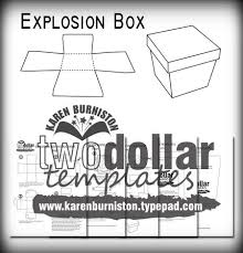 i am not left handed two dollar templates explosion box