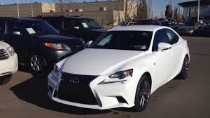 lexus convertible 2014 2014 lexus is 350 awd white lexus of edmonton youtube