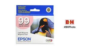 epson ink 99 light magenta epson 99 light magenta ink cartridge t099620 b h photo video
