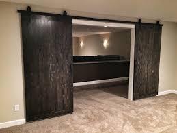 Interior Sliding Barn Doors For Homes Basement Barn Doors Home Design New Photo And Basement Barn Doors