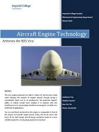 aircraft engine technology antonov an 225 mriya turbine payload