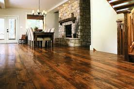 installing antique pine flooring to bring elegance and