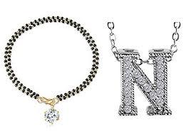women hand bracelet images Youbella jewellery designer combo of husband initial letter jpg