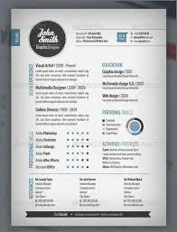 free creative resume template word professional cv template word