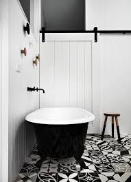 black and white bathroom tiles home design ideas