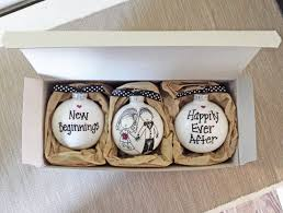 personalized ornaments wedding wedding gift wedding ornaments wedding gift set