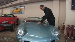 2011 porsche speedster for sale 1955 porsche 550 spyder for sale with test drive driving sounds