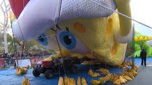 revelers line up to see the balloons inflated for nyc s 91st