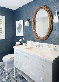 Beach Style Bathroom Vanity by Beach Themed Bathroom Mirrors Nautical Mirror Over Vanity From
