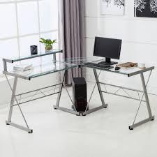 Narrow Corner Desk Desk Large White Desk With Drawers Black Brown Computer Desk