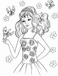 coloring pages teenage girls encourage cool