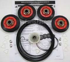 Clothes Dryer Troubleshooting Kenmore Amazon Com 59174 Dryer Repair Kit 4 Rollers Belt Idler Wheel