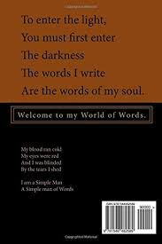 Words For Blinded By The Light So Hard It U0027s Soul Simon D Cook 9781548482589 Amazon Com Books