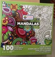 Subscription Box Swaps Karmin Creations Mandalas Color Puzzle