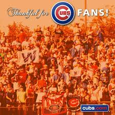 chicago cubs on we re thankful to such amazing