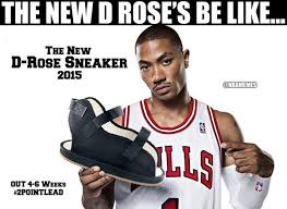 D Rose Memes - nba memes on twitter derrick rose s new sneakers https t co