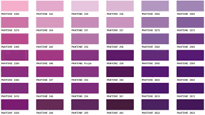 types of purple mauve paint swatch shades of purple awesome graceful portray