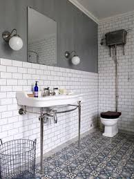 traditional bathroom floor tile fusion of moroccan tiles and victorian style bathroom suite fus