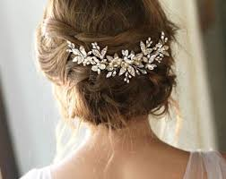 wedding hair comb bridal hair combs etsy