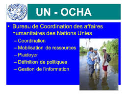 un ocha bureau de coordination des affaires humanitaires des
